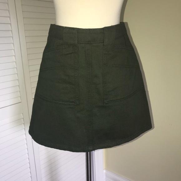 Urban Outfitters Dresses & Skirts - BDG Khaki green skirt